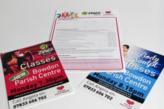 Flyers & Application Form