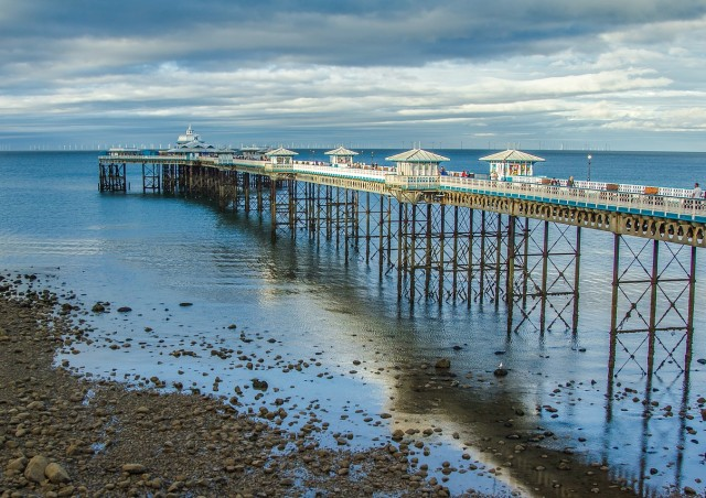 Llandudno pier, one of our local attractions